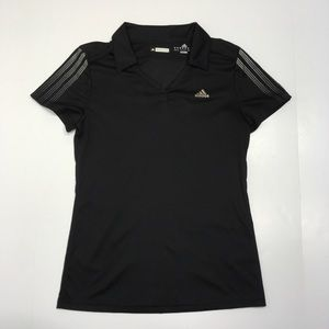 Adidas Tennis Women's Collared Shirt Black